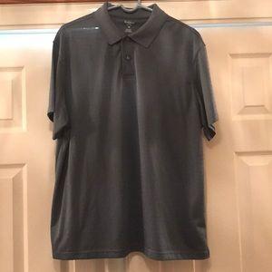 Men's Blue Haggar Polo Shirt